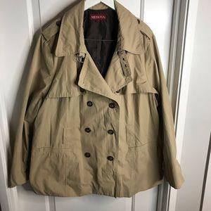 Tan Trench Coat 3x